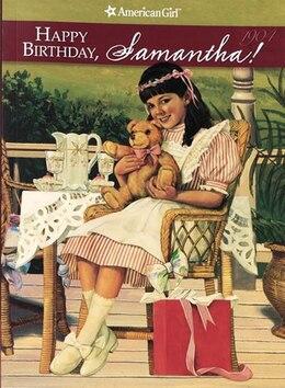 Book Happy Birthday, Samantha by Valerie Tripp