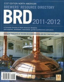 Book 2011-2012 Brewers' Resource Directory by Brewers Association