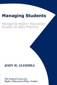 Book Managing Students by John M. Gledhill
