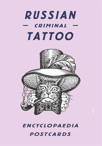 Russian Criminal Tattoo Encyclopaedia Postcards by Danzig Baldaev