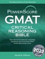 GMAT Critical Reasoning Bible