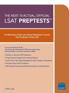 Next 10 Actual, Official Lsat Preptests: (preptests 29-38)