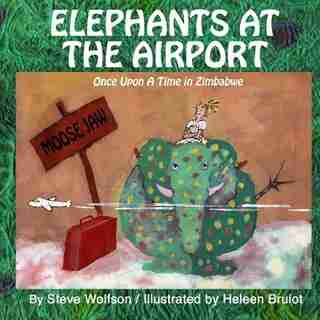 Elephants at the Airport by Steve Wolfson