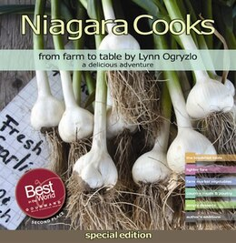 Book Niagara Cooks, from farm to table: a delicious adventure by Lynn Ogryzlo
