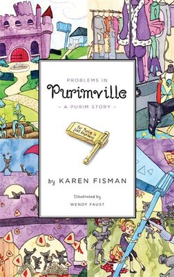 Book Problems In Purimville: A Purim Story by Karen Fisman