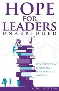 HOPE For Leaders Unabridged by Joe DeSensi
