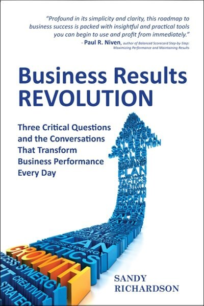 Business Results Revolution: Three Critical Questions and the Conversations That Transform Business Performance Every Day by Sandy Richardson