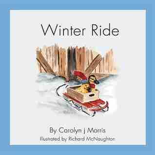 Railfence Bunch - Winter Ride by Carolyn j Morris