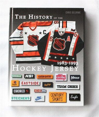info for a0166 5650c THE HISTORY OF THE NHL HOCKEY JERSEY 1983-1993