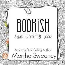 Bookish Adult Coloring Book