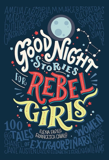 Výsledek obrázku pro Good Night Stories for Rebel Girl