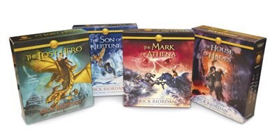 The Heroes Of Olympus Books 1-4 Cd Audiobook Bundle: Book One: The Lost Hero; Book Two: The Son Of…