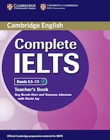 Cambridge English - Complete IELTS Teacher's Book, Bands 6.5-7.5