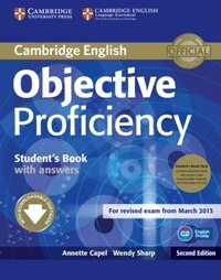Objective Proficiency Students Book Pack (Students Book with Answers with Downloadable Software and…
