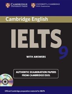 Cambridge IELTS 9 Self-study Pack (Students Book with Answers and Audio CDs (2)): Authentic Examination Papers from Cambridge ESOL