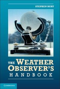 The Weather Observers Handbook