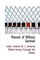 Manual of Military German