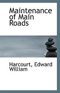 Maintenance of Main Roads