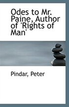 Odes to Mr. Paine, Author of 'Rights of Man'