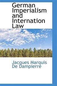 German Imperialism And Internation Law