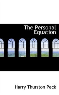 Book The Personal Equation by Harry Thurston Peck