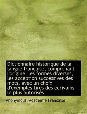 ален рэй dictionnaire historique de la langue francaise