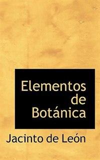 Elementos de Botánica de Jacinto de León