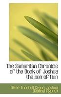The Samaritan Chronicle Of The Book Of Joshua The Son Of Nun