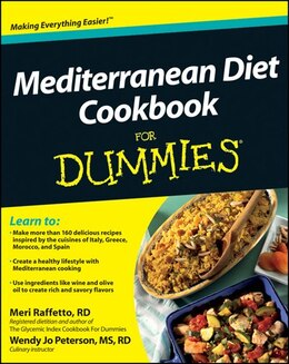 Book Mediterranean Diet Cookbook For Dummies by Meri Raffetto