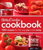 Betty Crocker Cookbook, 11th Edition: The Big Red Cookbook  (Comb-Bound)