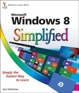 Book Windows 8 Simplified by Paul McFedries