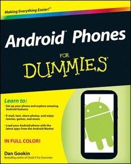 Book Android Phones For Dummies by Dan Gookin