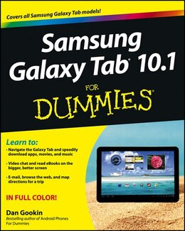 Book Samsung Galaxy Tab 10.1 For Dummies by Dan Gookin