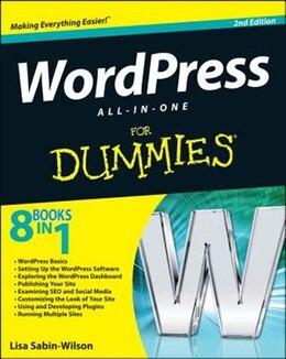 Book WordPress All-in-One For Dummies by Lisa Sabin-Wilson