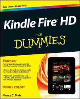 Kindle Fire HD For Dummies de Nancy C. Muir