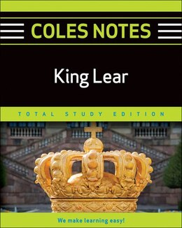 Book Coles Notes Total Study Edition King Lear by Indigo Canada