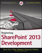 Beginning SharePoint 2013 Development