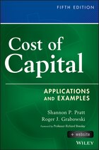 Cost of Capital, + Website: Applications and Examples