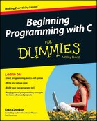 Beginning Programming with C For Dummies