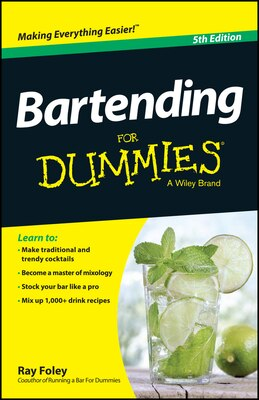 Book Bartending For Dummies by Ray Foley