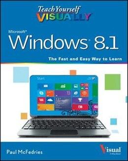 Book Teach Yourself VISUALLY Windows 8.1 by Paul McFedries