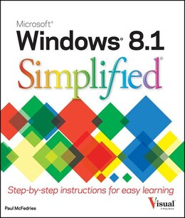Book Windows 8.1 Simplified by Paul McFedries