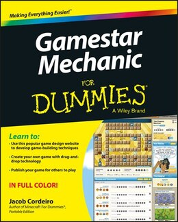 Book Gamestar Mechanic For Dummies by Jacob Cordeiro