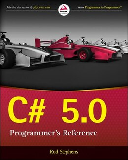 Book C# 5.0 Programmers Reference by Rod Stephens