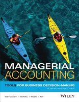 Managerial Accounting: Tools for Business Decision-Making