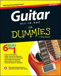 Guitar All-In-One For Dummies, Book + Online Video & Audio Instruction: Book + Online Video & Audio…