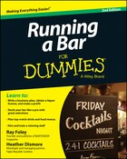 Running a Bar For Dummies