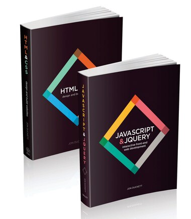Web Design with HTML, CSS, JavaScript and jQuery Set by Jon Duckett