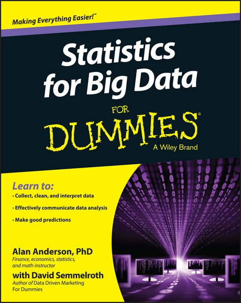 Statistics for Big Data For Dummies by Alan Anderson