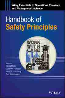 Handbook of Safety Principles by Niklas Möller
